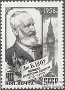 Sowjetunion 1887 MNH 1956 Personalità - Ungebraucht