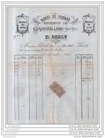 90 - 128 GRANDVILLARS BELFORT 1896 BIERES DE SOCHAUX Des Ets E. BERLY - Biere En Bouteilles Et  Bock ˆ CHRIST AIME - France
