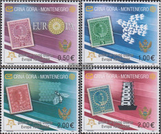 Montenegro 108I-111I (complete.issue.) Unmounted Mint / Never Hinged 2006 50 Years Europe Trade - Montenegro
