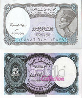 Egypt Pick-number: 188, Signature New Uncirculated 1998 5 Piastres - Egypt