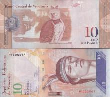 Venezuela Pick-number: 90c Uncirculated 2011 10 Bolivares - Venezuela