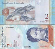 Venezuela Pick-number: 88d (31.01.2012) Uncirculated 2012 2 Bolivares - Venezuela