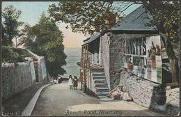Beach Road, Newquay, Cornwall, C.1905-10 - Hartmann Postcard - Newquay