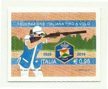 2016 - Italia 3768 Tiro A Volo^ - Francobolli
