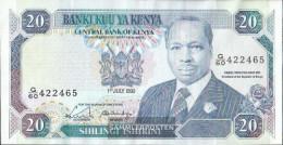 Kenya Pick-number: 25c Uncirculated 1990 20 Schillings - Kenia
