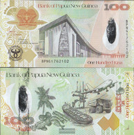Papua-Guinea Pick-number: 37a Uncirculated 2008 100 Kina - Papua New Guinea