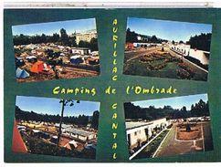 15  AURILLAC  LE  CAMPING  DE  L'  OMBRADE***    CPM  TBE     1X773 - Aurillac