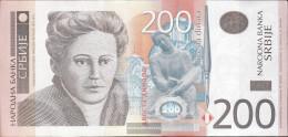 Serbia Pick-number: 57a Uncirculated 2011 200 Dinara - Serbia
