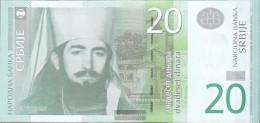 Serbia Pick-number: 55a Uncirculated 2011 20 Dinara - Serbia