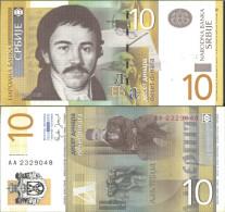 Serbia Pick-number: 46a Uncirculated 2006 10 Dinara - Serbia