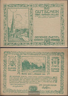 Zwettl Notgeld The Community Zwettl Uncirculated 1920 20 Bright - Austria