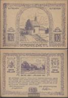 Zwettl Notgeld The Community Zwettl Uncirculated 1920 10 Bright - Austria