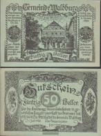 Waldburg Notgeld The Community Waldburg Uncirculated 1920 50 Bright - Austria