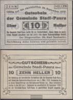 Stadl-Paura Notgeld The Community Stadl-Paura Uncirculated 1920 10 Bright - Austria
