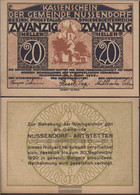 Nussendorf Notgeld The Community Nussendorf Uncirculated 1920 20 Bright - Austria