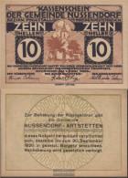 Nussendorf Notgeld The Community Nussendorf Uncirculated 1920 10 Bright - Austria