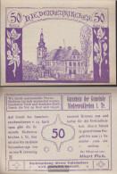 Niederneukirchen Notgeld The Community Nietheneukirchen Uncirculated 1920 50 Bright - Austria