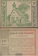 Niederneukirchen Notgeld The Community Nietheneukirchen Uncirculated 1920 10 Bright - Austria