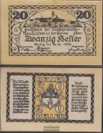 Neuhofen Notgeld The Community Neuhofen Uncirculated 1920 20 Bright - Austria