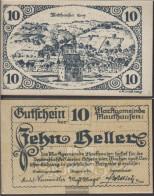 Mauthausen Notgeld The Community Mauthausen Uncirculated 1920 10 Bright - Austria