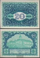 Oberhollabrunn Notgeld The Community Oberhollabrunn Uncirculated 1920 20 Bright - Austria