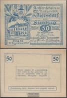 Ziersdorf Notgeld The Market Town Ziersdorf Uncirculated 1920 50 Bright - Austria