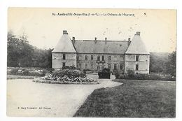 ANDOUILLE-NEUVILLE  (cpa 35)  Le Château De Magnane  -   - L 1 - Autres Communes