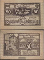 Kremsmünster Notgeld The City Kremsmünster Uncirculated 1920 50 Bright - Austria