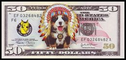 UKRAINE. 2018 - YEAR OF THE DOG. 50 $. CHIEF OF THE INDIANS. Funny Pocket Calendar - Calendars