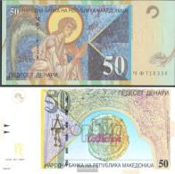 Makedonien Pick-number: 15d Uncirculated 2003 50 Denari - Macedonia
