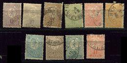 Bulgarie Ob  N° 28 à 37 - Unused Stamps