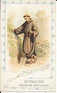 CARTE ST FIACRE DEFRICHE SON CHAMP - SCENES DE LA VIE MONASTIQUE   TBE - Religion & Esotericism