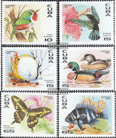 Cuba 3926-3931 (complete Issue) Unmounted Mint / Never Hinged 1996 Flora The Caribbean - Cuba