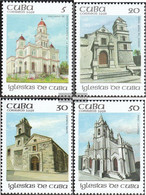 Cuba 3645-3648 (complete Issue) Unmounted Mint / Never Hinged 1992 Churches - Cuba