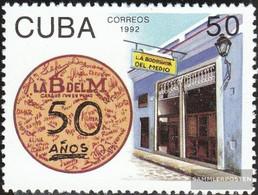 Cuba 3577 (complete Issue) Unmounted Mint / Never Hinged 1992 Bodeguita Del Medio - Cuba