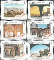 Cuba 3571-3576 (complete Issue) Unmounted Mint / Never Hinged 1992 Stamp Exhibition - Cuba