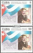 Cuba 3567-3568 (complete.issue.) Unmounted Mint / Never Hinged 1992 Party The Revolution - Cuba
