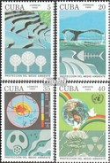 Cuba 3554-3557 (complete.issue.) Unmounted Mint / Never Hinged 1992 Environment - Cuba