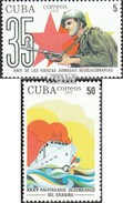 Cuba 3543-3544 (complete.issue.) Unmounted Mint / Never Hinged 1991 Revolutionary Forces - Cuba