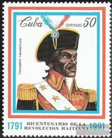 Cuba 3542 (complete Issue) Unmounted Mint / Never Hinged 1991 Haitianische Revolution - Cuba