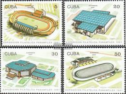 Cuba 3504-3507 (complete Issue) Unmounted Mint / Never Hinged 1991 Sportanlagen - Cuba