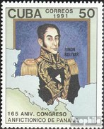 Cuba 3486 (complete.issue.) Unmounted Mint / Never Hinged 1991 Panamaischer Congress - Cuba