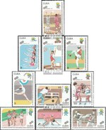 Cuba 3476-3485 (complete.issue.) Unmounted Mint / Never Hinged 1991 Pan American Sports Games - Cuba