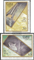 Cuba 3474-3475 (complete Issue) Unmounted Mint / Never Hinged 1991 Day The Stamp - Cuba