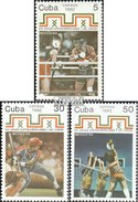 Cuba 3449-3451 (complete.issue.) Unmounted Mint / Never Hinged 1990 Sports Games - Cuba
