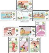 Cuba 3439-3448 (complete.issue.) Unmounted Mint / Never Hinged 1990 Pan American Sports Games - Ongebruikt