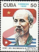 Cuba 3389 (complete.issue.) Unmounted Mint / Never Hinged 1990 Ho Chi Minh - Cuba