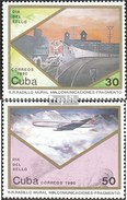 Cuba 3378-3379 (complete Issue) Unmounted Mint / Never Hinged 1990 Day The Stamp - Cuba
