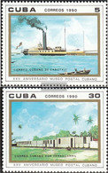 Cuba 3353-3354 (complete Issue) Unmounted Mint / Never Hinged 1990 Postal Museum - Cuba