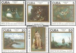 Cuba 3336-3341 (complete.issue.) Unmounted Mint / Never Hinged 1989 Paintings - Ongebruikt
